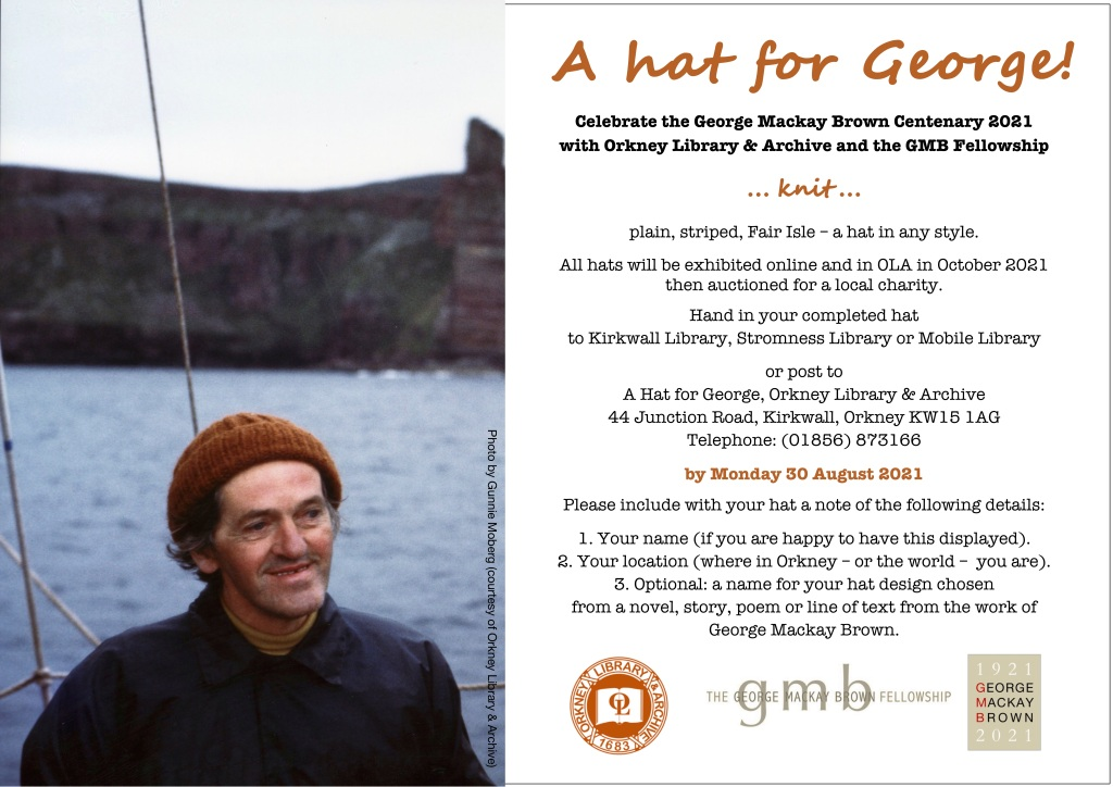 A Hat for George Poster